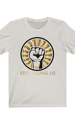Stop Killing Us - Unisex Jersey Short Sleeve Tee