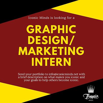 graphic design & marketing internship