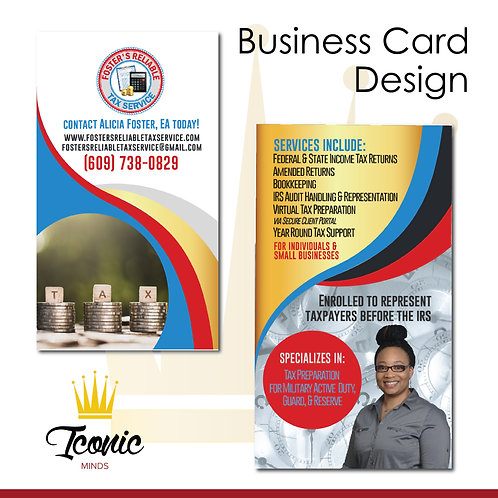 Print-Ready Business Cards