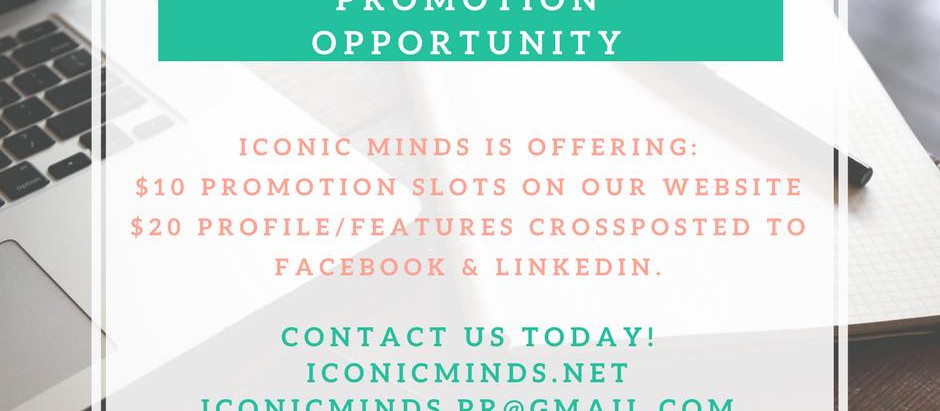 Promotion Opportunity!!