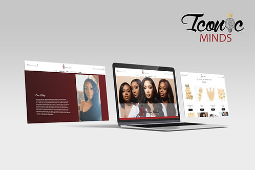 Website + Shop