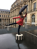 At the Palais Royale