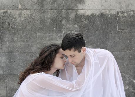 Aurora Vaughan and Evan Sagadencky