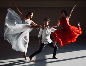 Alyssa Allen, Brendan Evans and Sophia Oddi