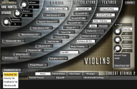 Kirk Hunter Studios Concert Strings 2 KONTAKT Download