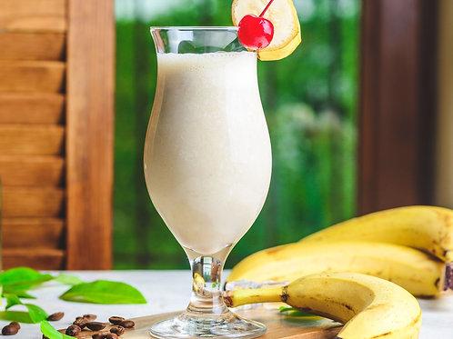 Tropical Dirty Banana Cocktail