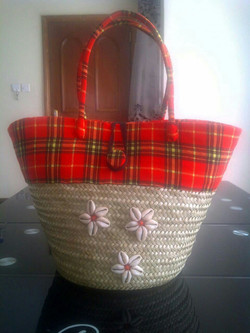 Hand-made basket