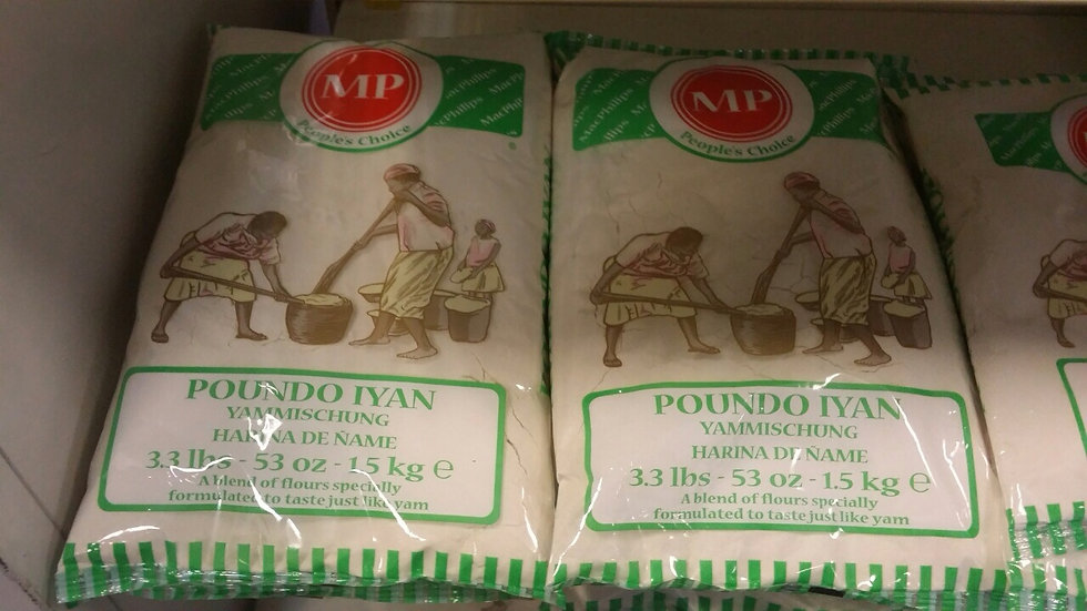 MP - Poundo Iyan