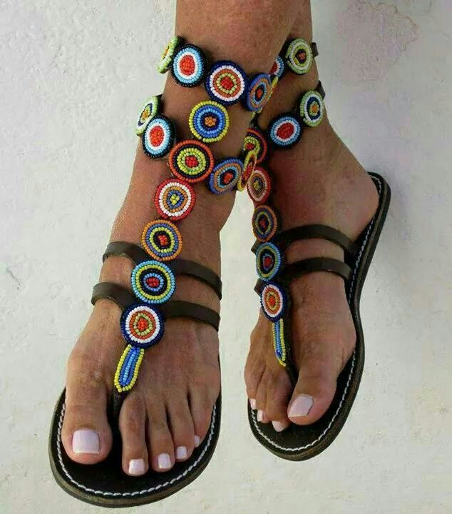 Hand - made African Sandals
