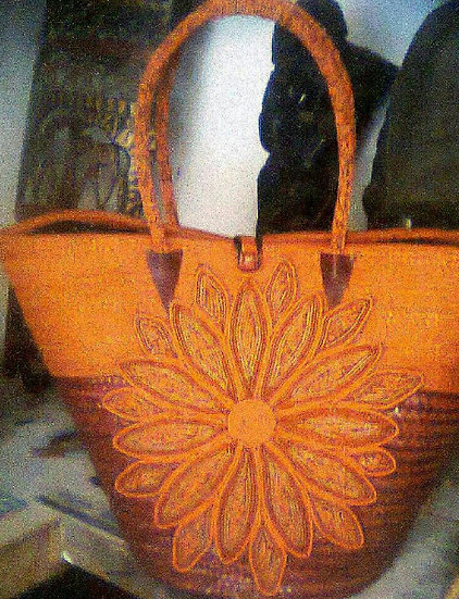 African hand - made Basket