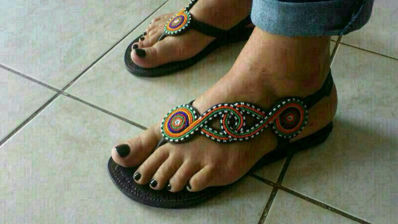 African Hand - made Sandals