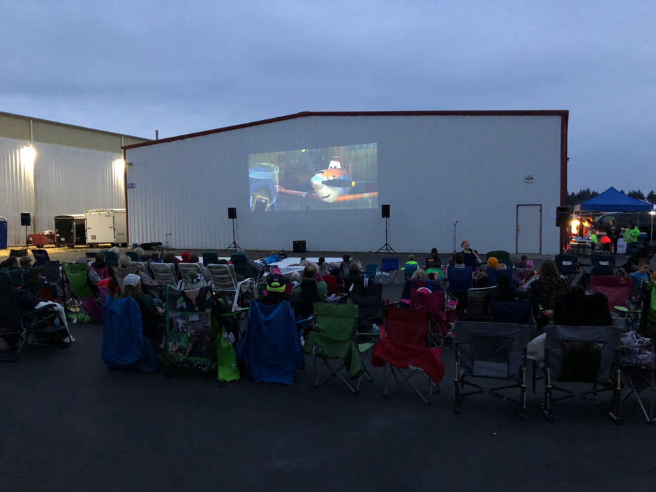 Point Fosdick Hosts the Annual Fly-In Drive-In