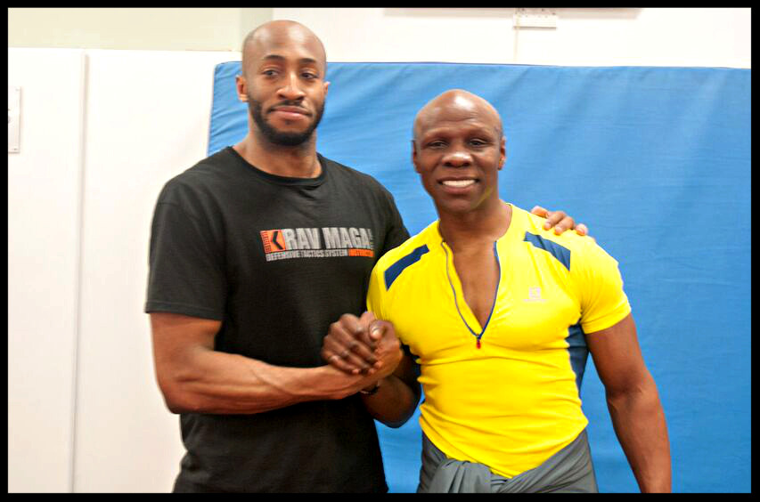 Chi and Chris Eubank Training Session London