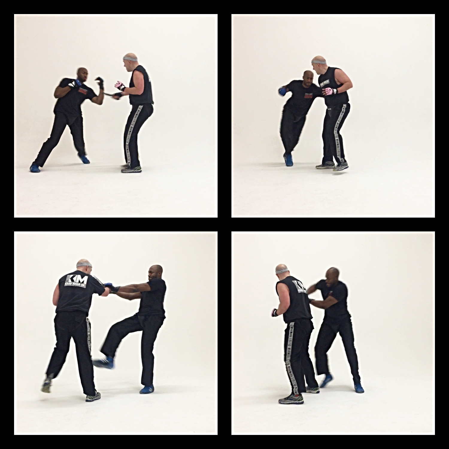 Knife Defence Sequence