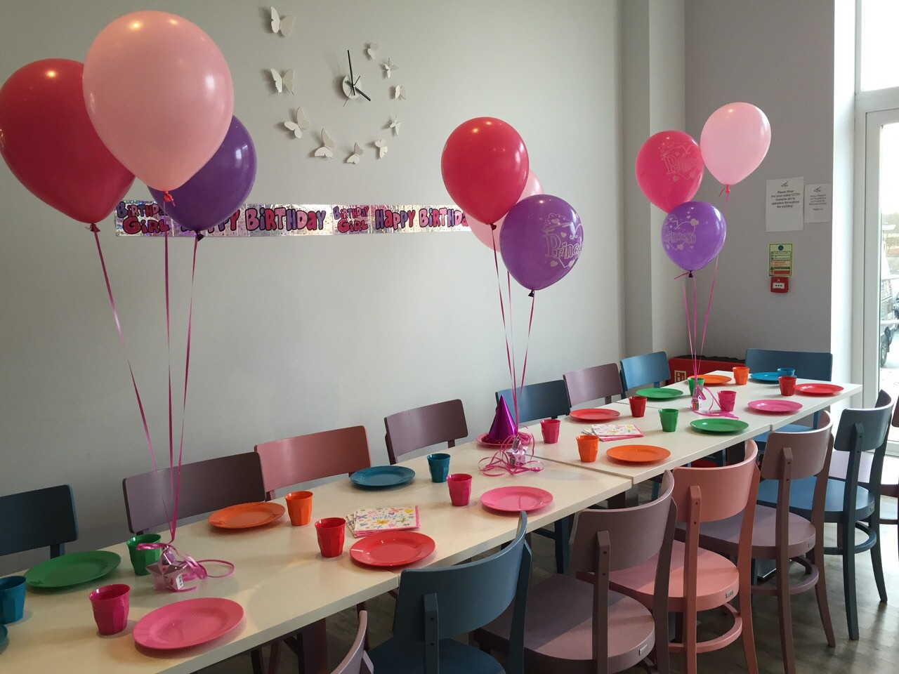 kids birthday party photo