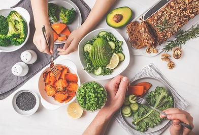 Repas équilibré, nutrition santé