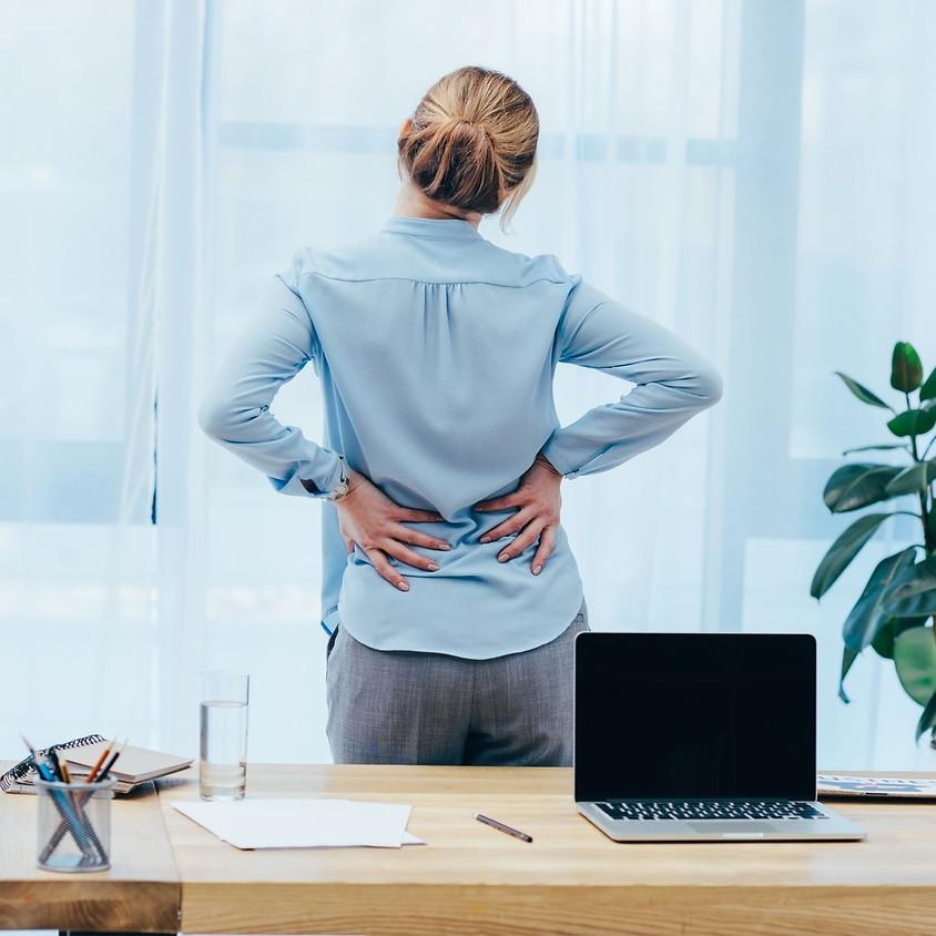 Se prémunir des troubles musculo-squelettiques - Mardi 23 Mars de 11h à 12h