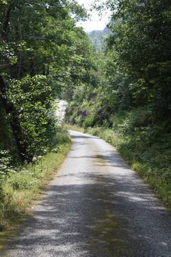 Veien ut mot Laukhamar