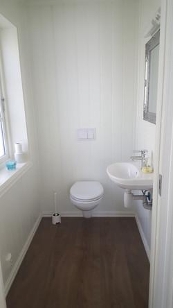 All cabins - ekstra toilet