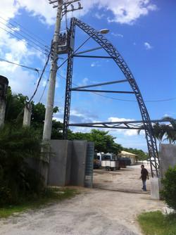 Portal em estrutura
