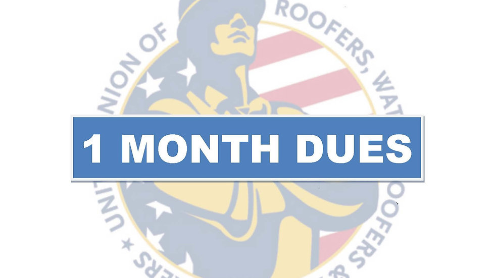 1 months dues