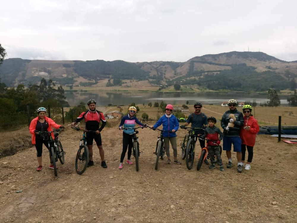 Bogota cycling, easy rides