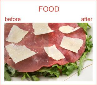 Samples of Retouching - Food