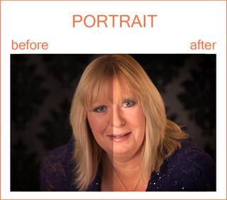 Samples of Retouching - Portrait, Family, Newborn