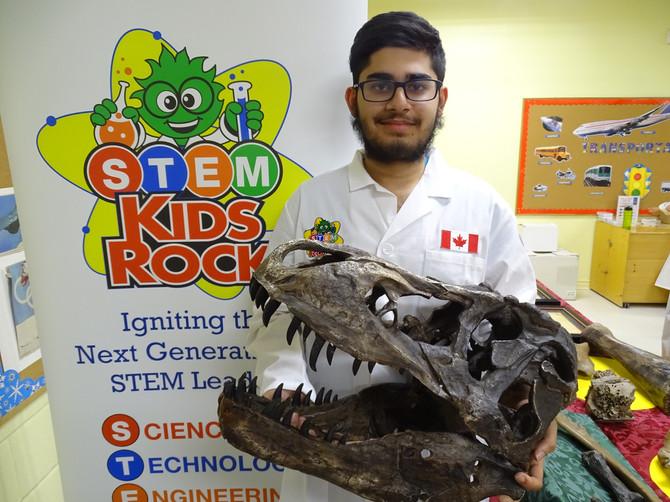 Meet STEM Kids Rock's Hamza Khan!
