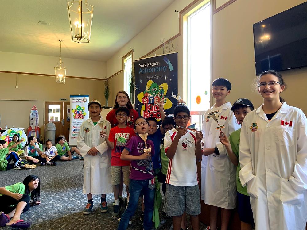 STEM Kids Rock's Space & Science Camp