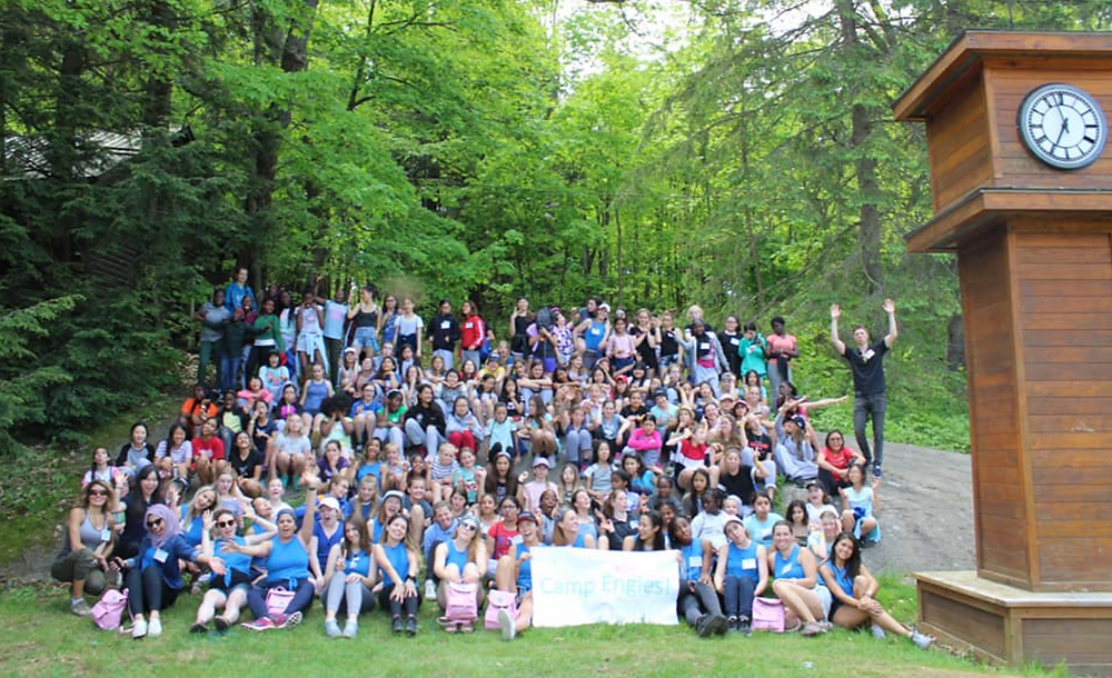 Camp Engies Hosted 145 Girls in grades 5-8
