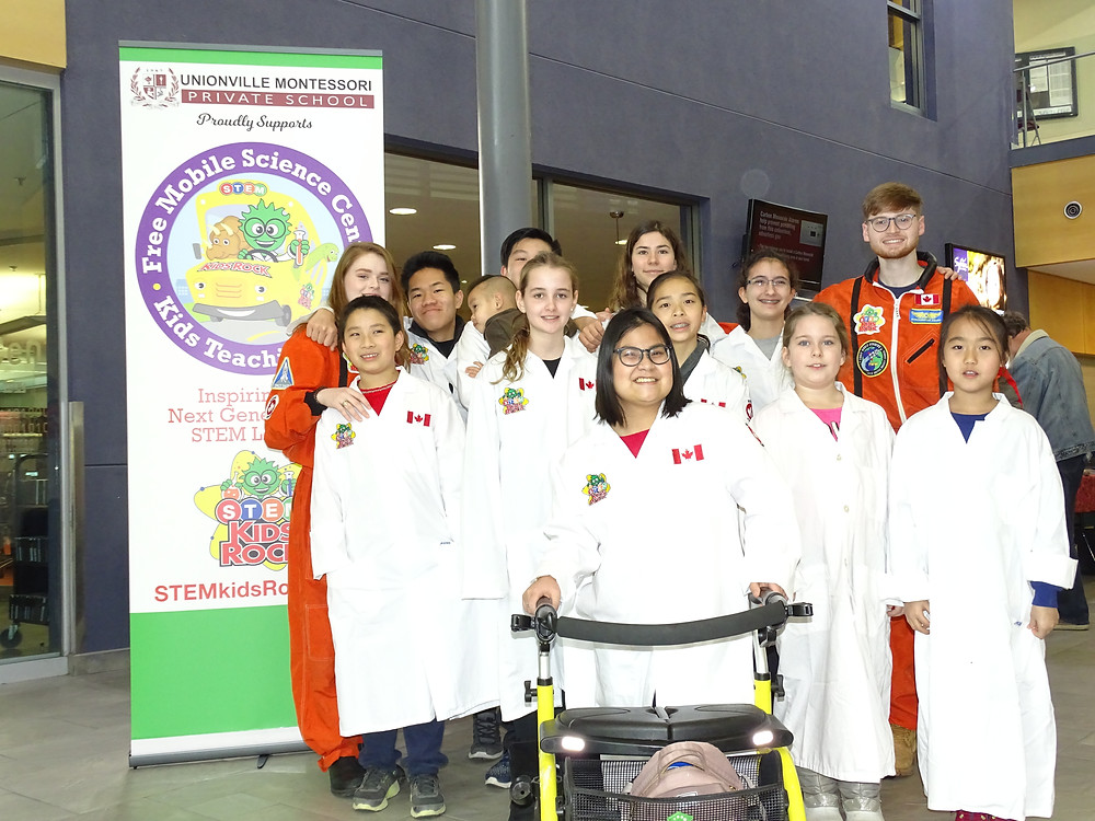 STEM Kids Rock's STEM Squad at Angus Glen Community Centre