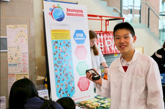 Meet Jackie Han, a STEM Renaissance Man!