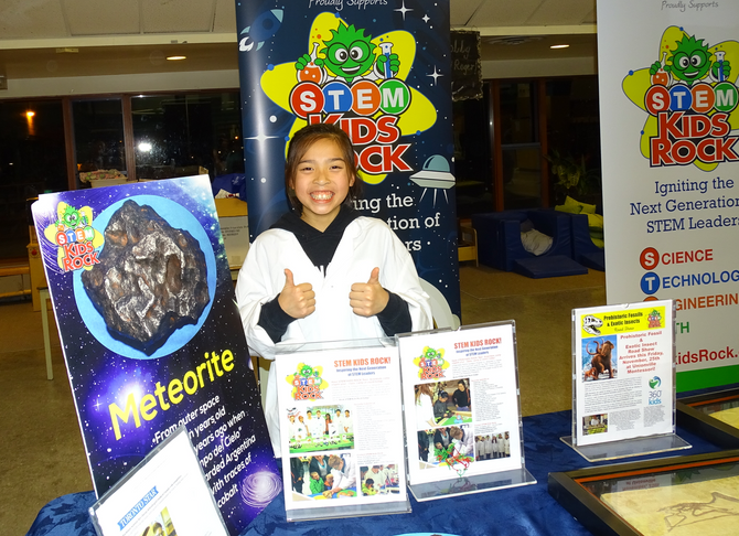 Leah takes the Lead at Central Park's STEAM Night!