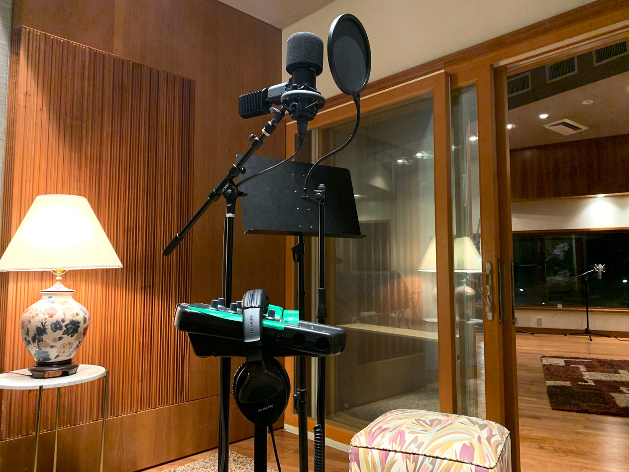 Virginia Beach Recordiing Arts Studio A Iso Vocal Booth with Sony C800G
