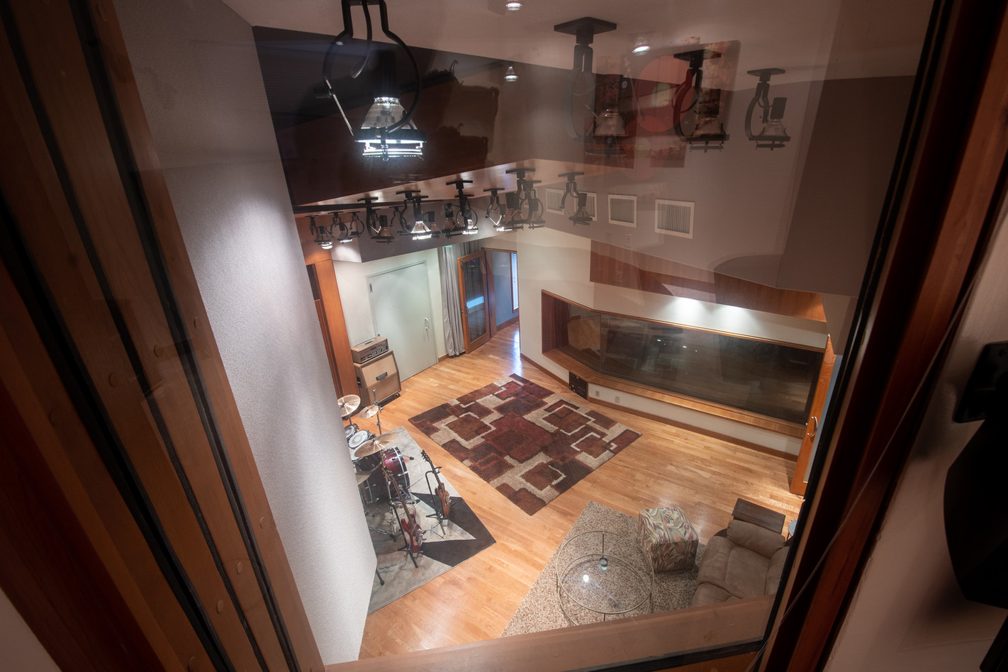 Elevated View of Studio A Live w Room