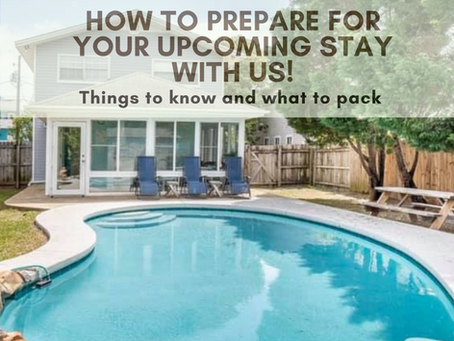 How To Prepare For Your Upcoming Stay With Us