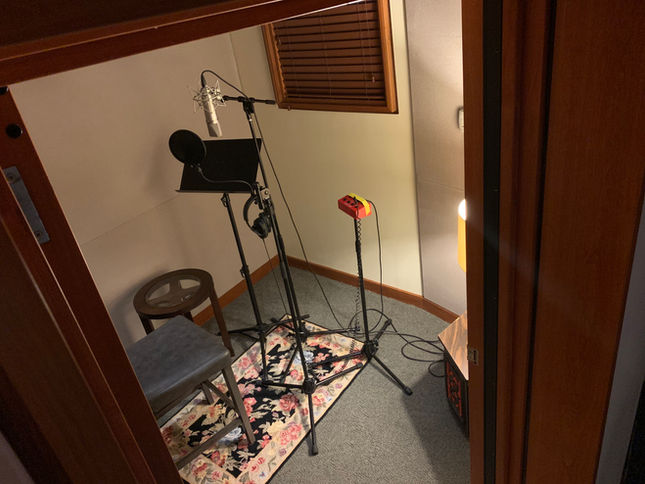 Virginia Beach Recording Arts Studio B View Looking Down Into Iso