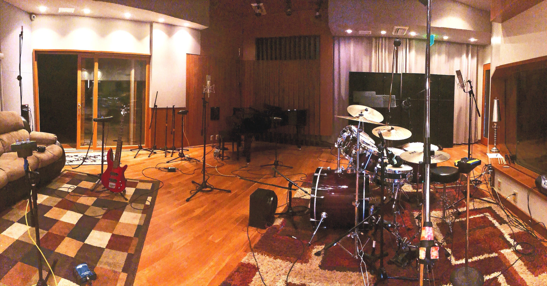 Virginia Beach Recording Arts Studio A Live Room