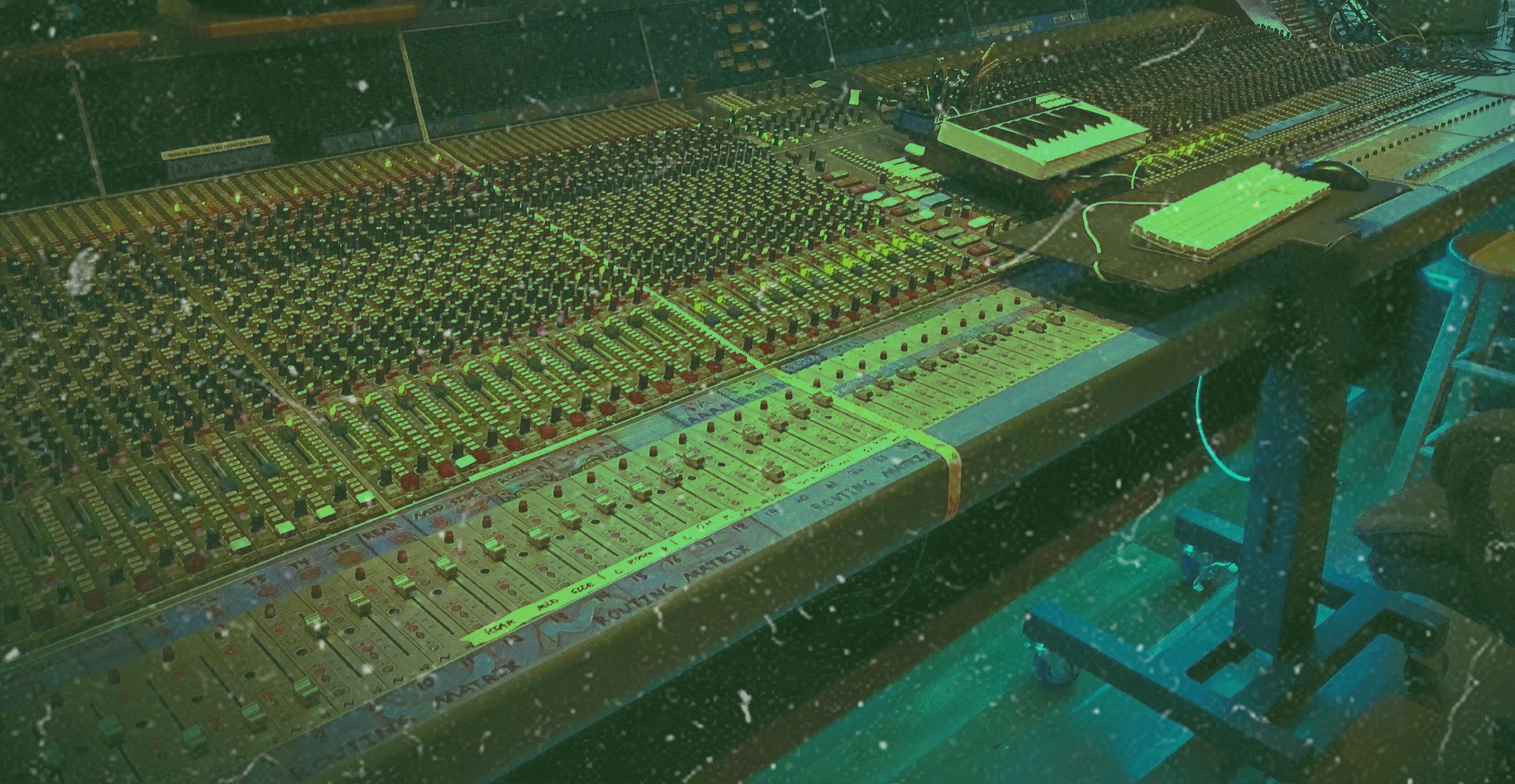 Green Control Room A Neve Console