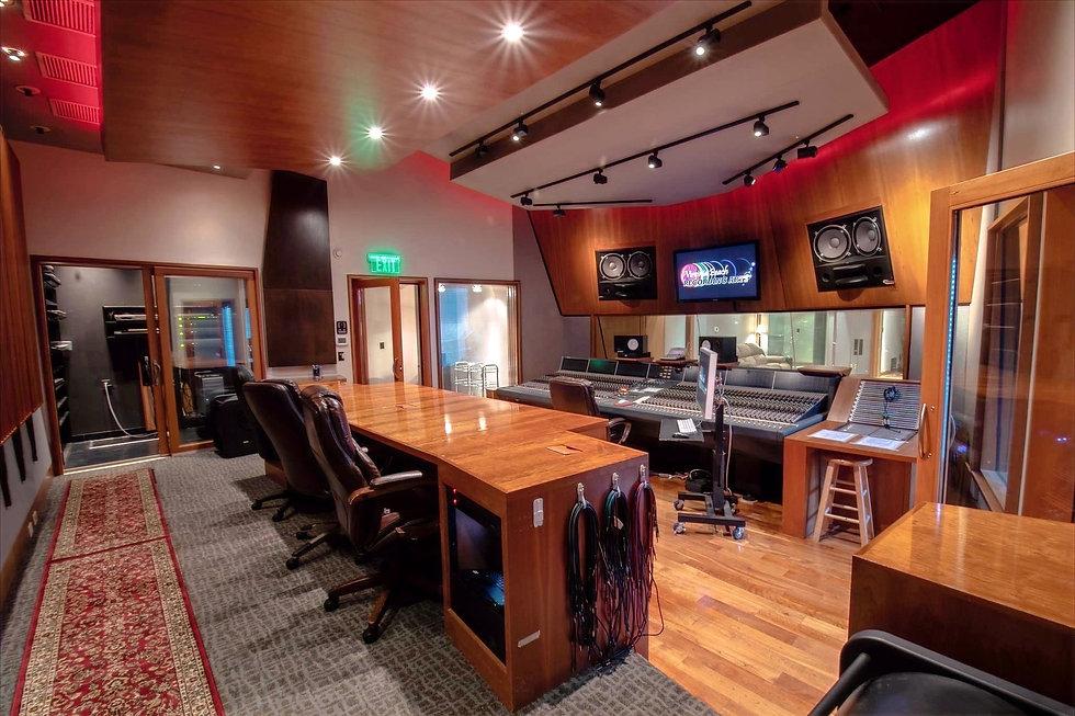 Virginia Beach Recording Arts Control Room