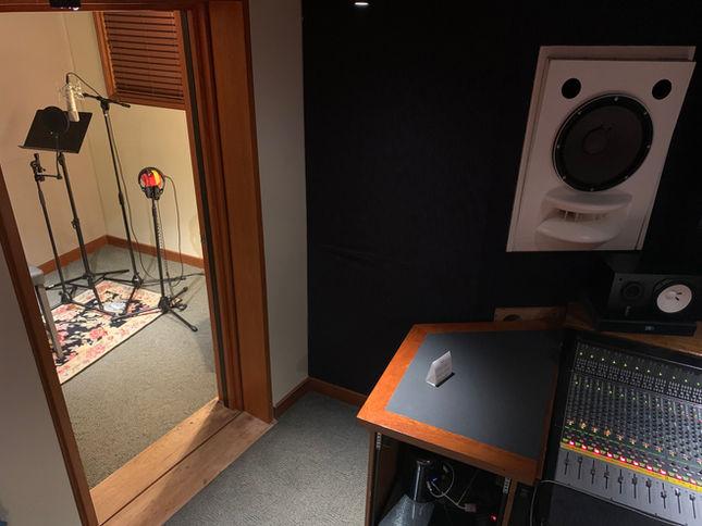 Virginia Beach Recording Arts STUDIO B View 2 Looking Down Into Iso 2