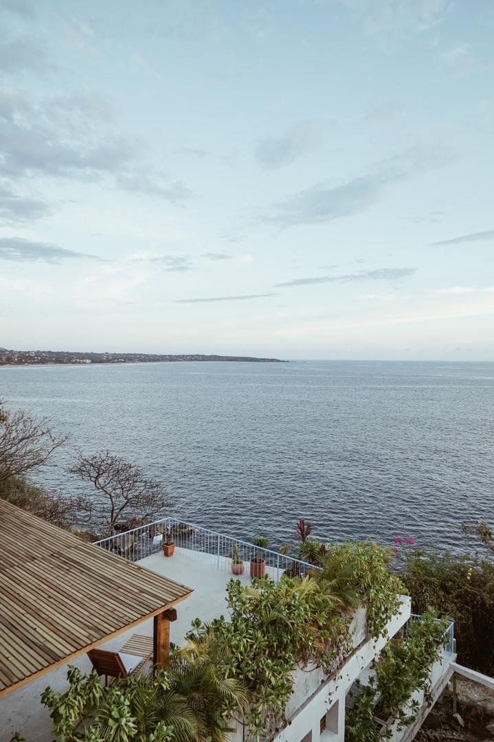View of Zicatela