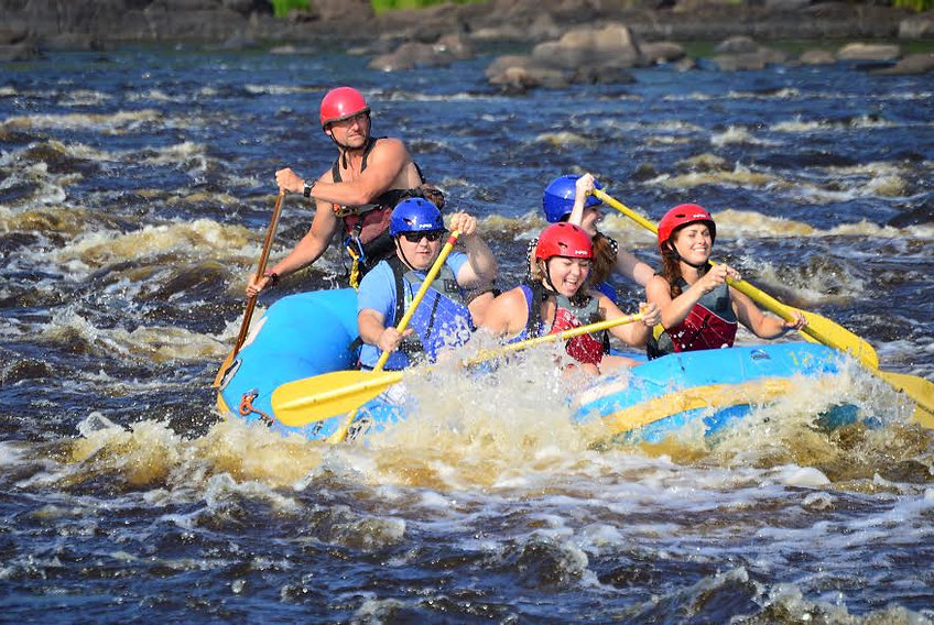 Whitewater Rafting St Louis River