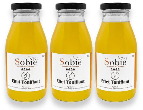 Bouillon Effet Tonifiant 3 x 25cl