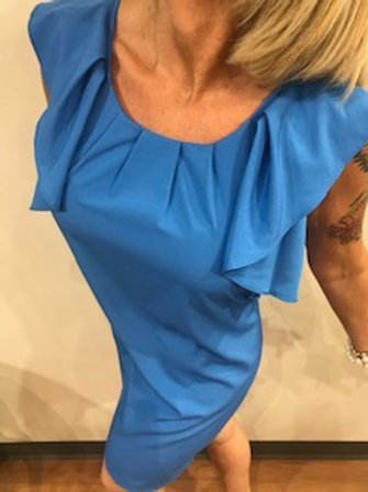 Robe Molly Bracken Bleu royal