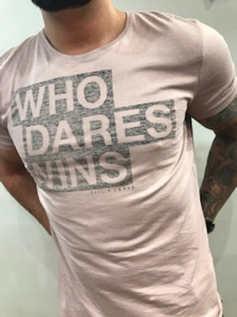 T_Shirt homme rose  Garcia