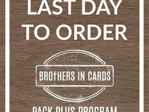 Last day to order for July!