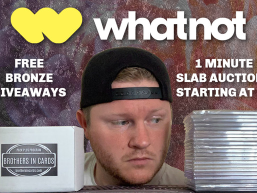 Live on WhatNot!