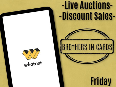 LIVE RIGHT NOW! on WhatNot! Free Bronze Giveaway and $1 Slab 60 second Auctions!